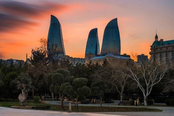 Баку в декабре 2020.