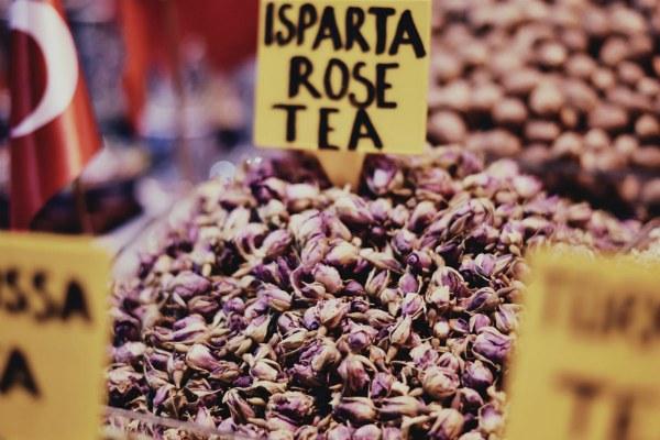 Рынок. Чай.