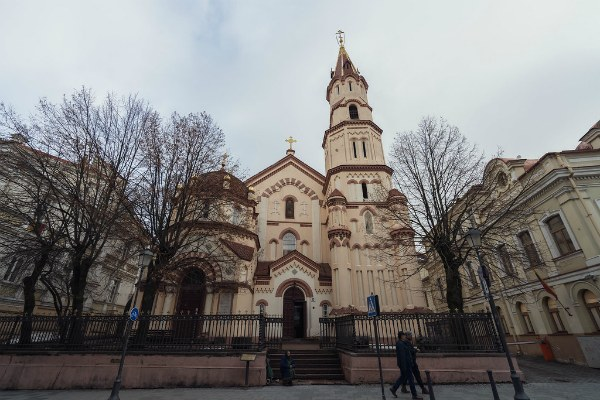 Церковь в Вильнюсе.