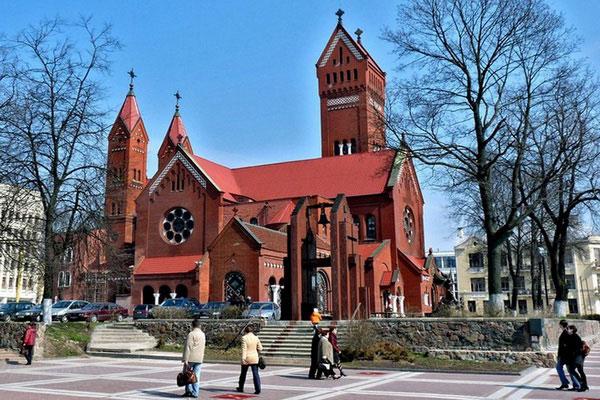 Костёл святого Симеона и святой Елены.