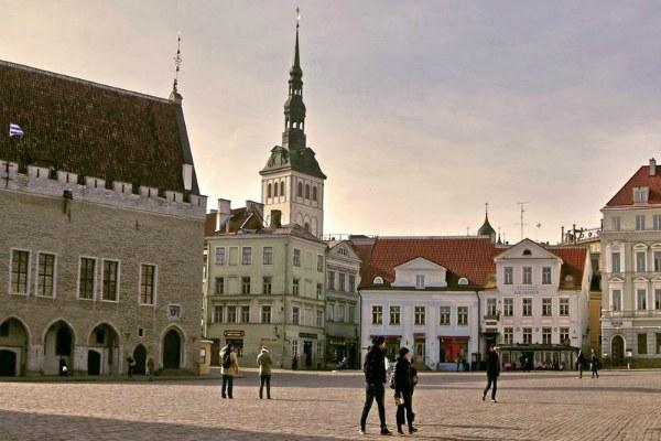 Городская площадь.