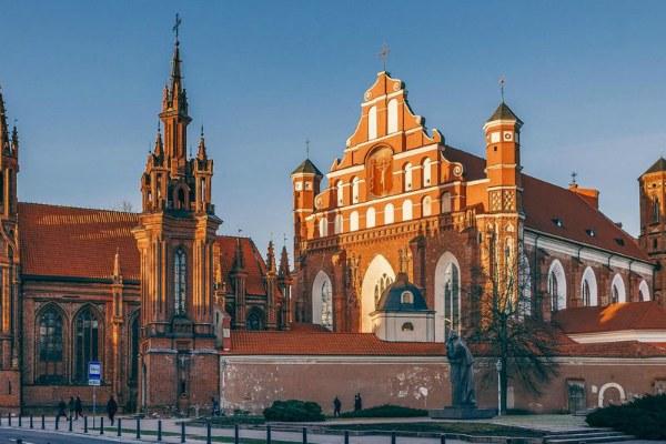 Экскурсия по Вильнюсу.