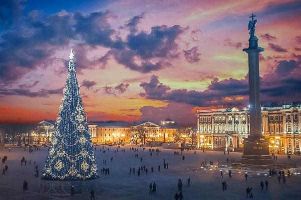 Декабрь 2020 в Петербурге.