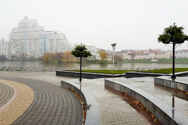 Ноябрь 2019 в Минске.