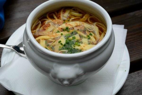 Суп суп Фриттатензуппе.