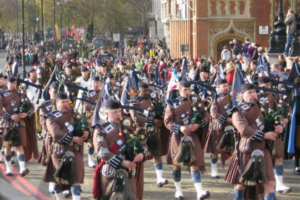 Парад вчесть лорда Мэра Лондона.