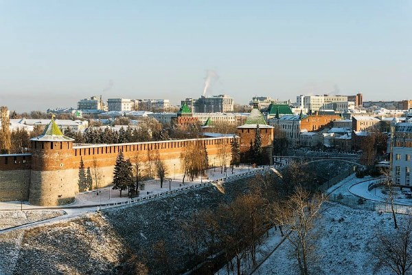 Ноябрь 2019 в Нижнем Новгороде.