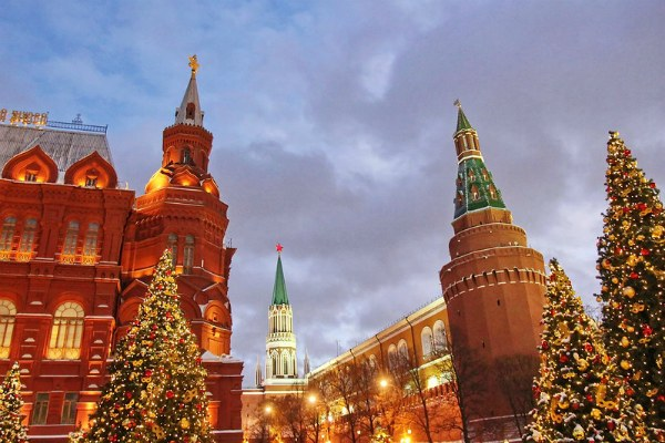 Декабрь 2020 в Москве.