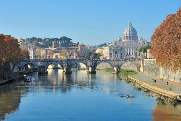 Осенний Рим.