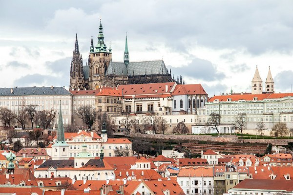Зима 2020 в Праге.