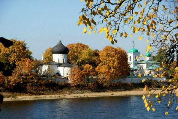 Осень 2020 в Пскове.