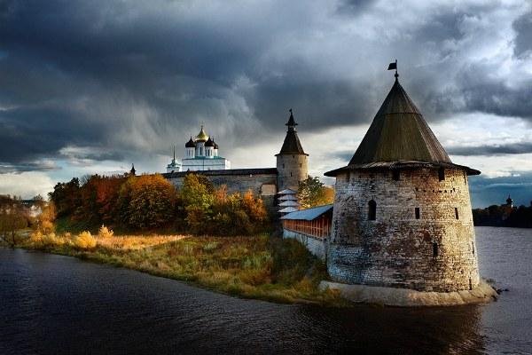 Кремль осенью.