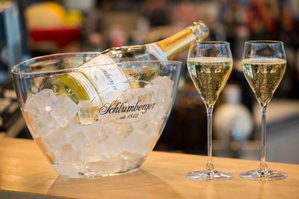 Австрийское шампанское.