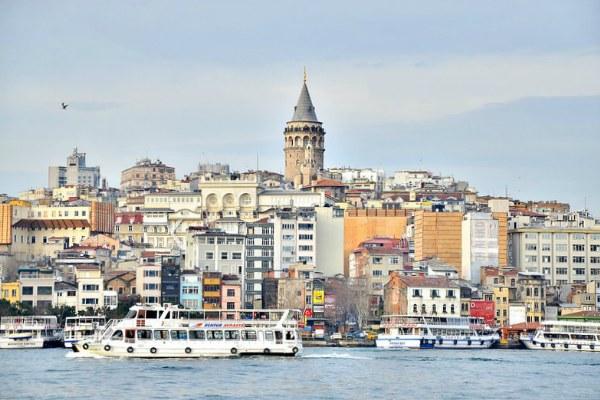 Осенний Стамбул 2019.