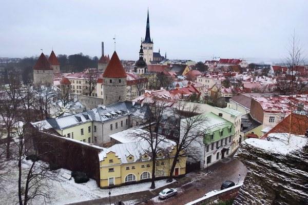 Рождество 2019 в Таллине.