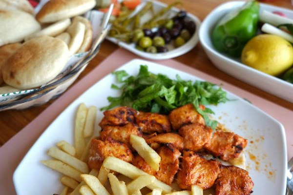 Обед в Дубае.