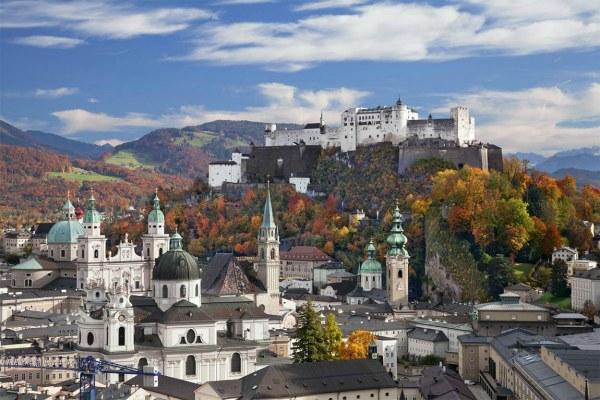 Зальцбург в октябре 2020.