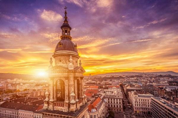 Будапешт вечер.