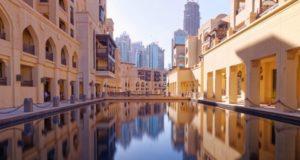 Зимний Дубай.