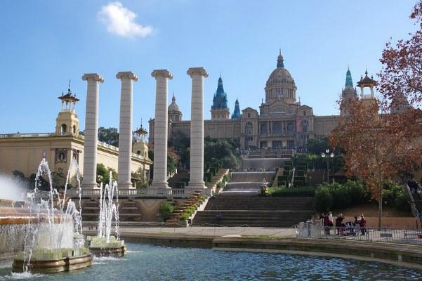 Зима в Барселоне, новогодние каникулы 2020 в Испании.