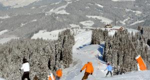 Горные лыжи в Крыму.
