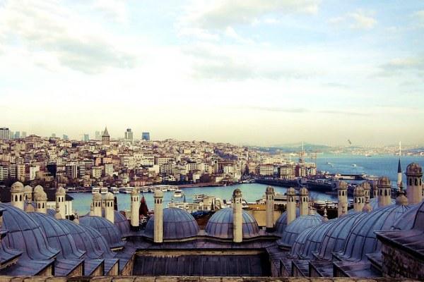 Стамбул в декабре 2019 года.