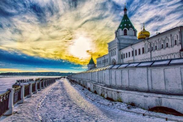 Кострома зимой 2020.