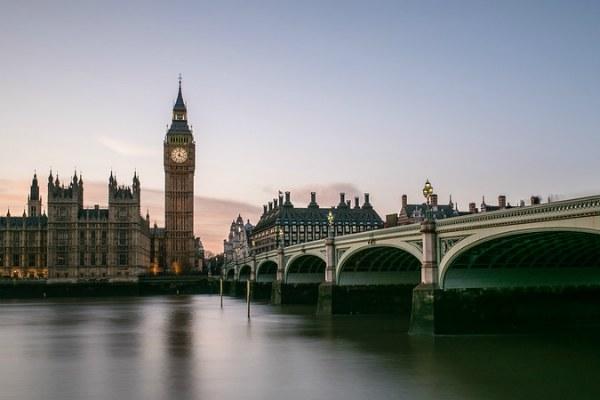 Лондон зимой 2020 года.