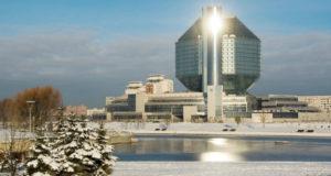 Минск зимой.