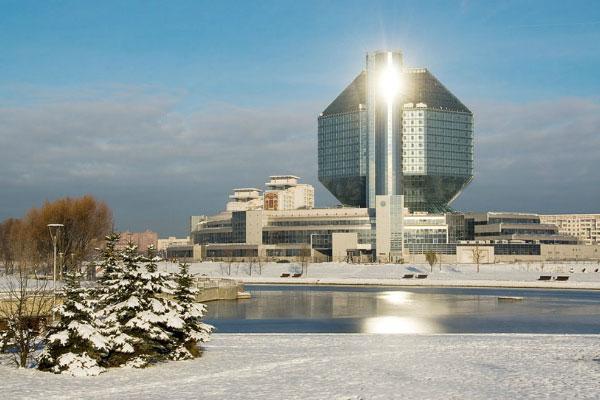 Минск зимой 2020 года.
