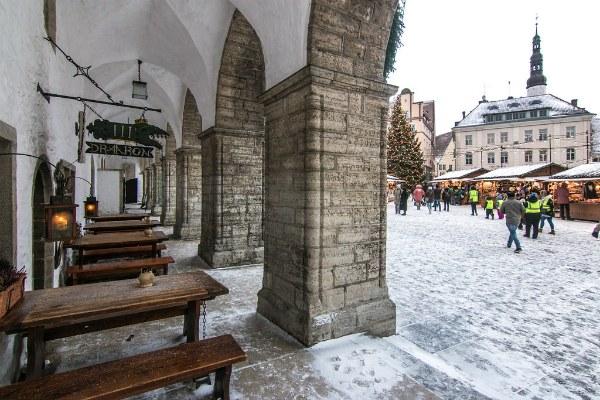 Таверна в Таллине.