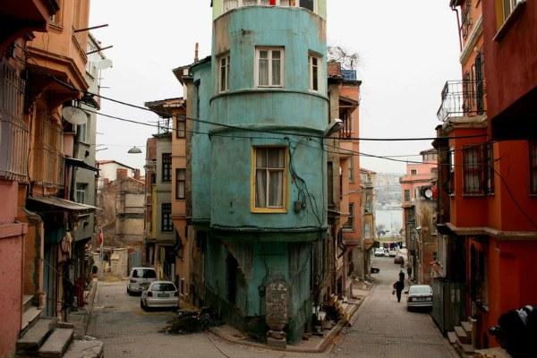 Трущобы Стамбула.