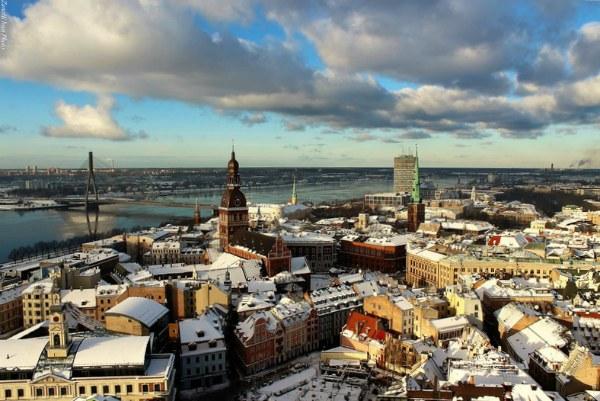 Рига зимой 2020.