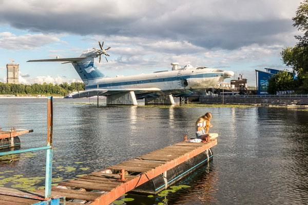 Водный самолёт.