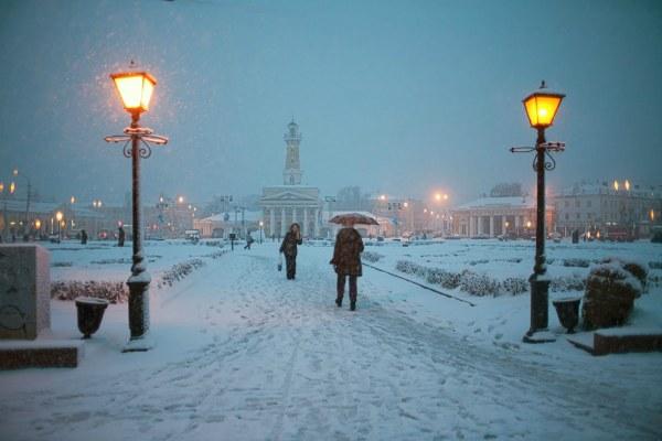 Снежный декабрь.