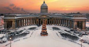 Петербург зимой.