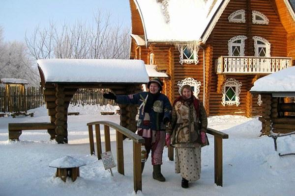 Дом снегурочки.