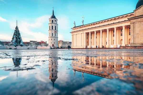 Зима 2020 в Вильнюсе.