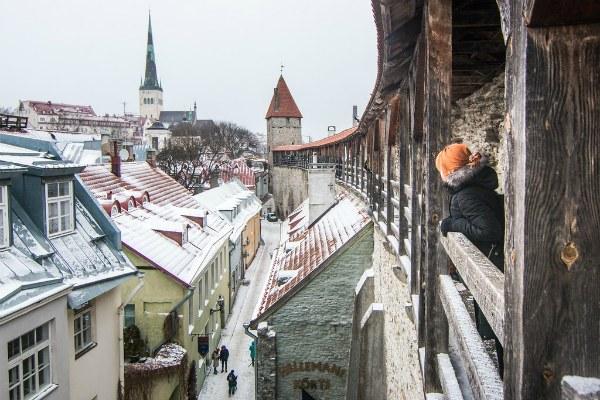 Зимний Таллин 2020.