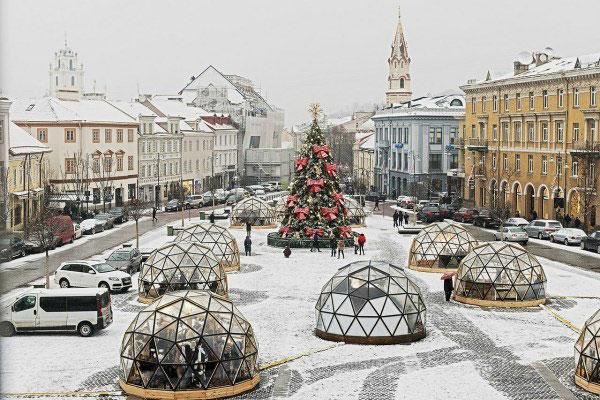 Новогодние каникулы 2020 в Вильнюсе.