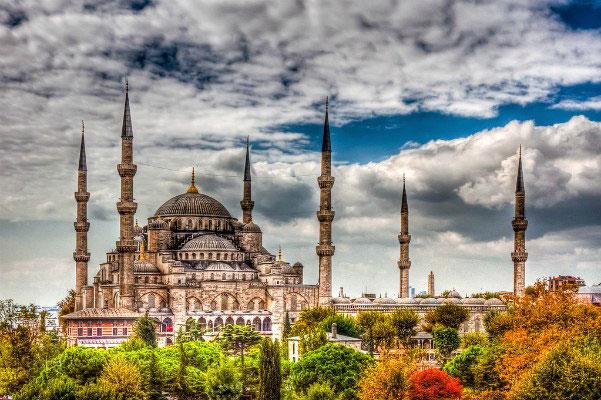 Стамбул осенью