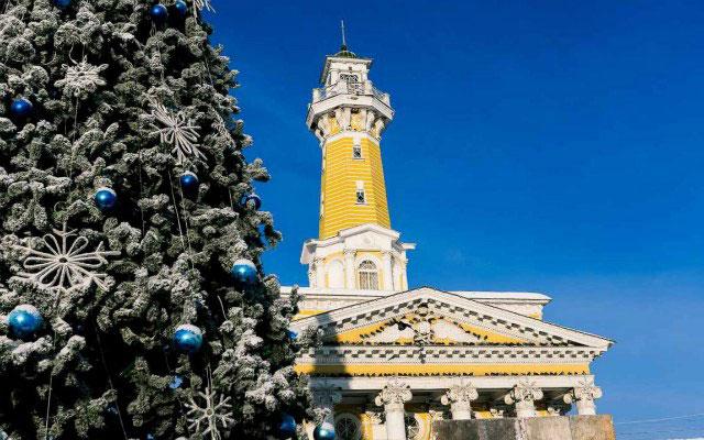 Кострома в новогодние праздники 2020.
