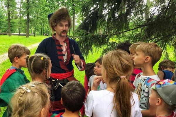 Экскурсия по Лукоморью для детей.