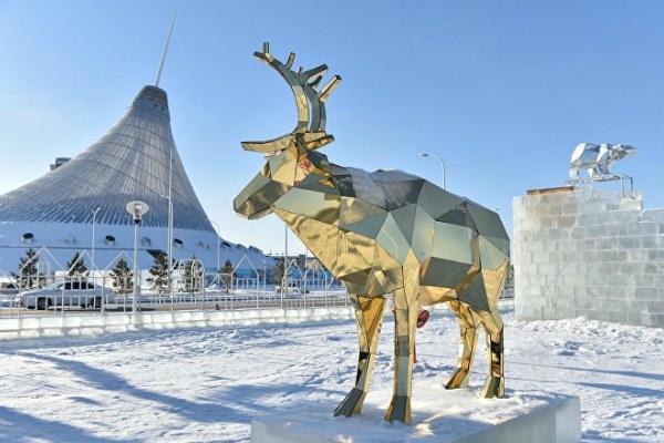 Новый год в Казахстане.