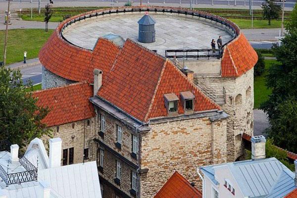 Средневековые башни.