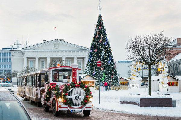 Рождественский паровозик.