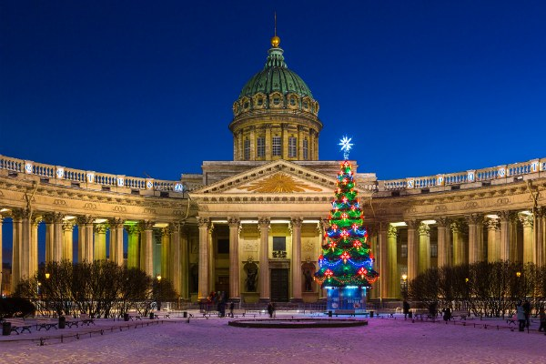 Новогодний Петербург.