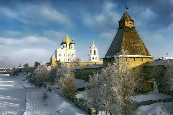 Зимний Псков 2020.