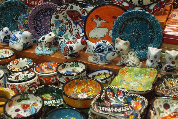 Керамические сувениры.