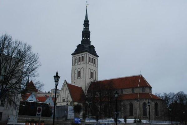 Улицы Таллина.